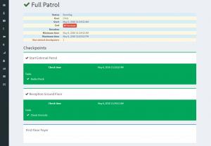 Current Patrol Widget