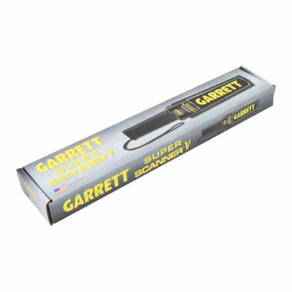 Garrett Super Scanner V Security Wand Metal Detector