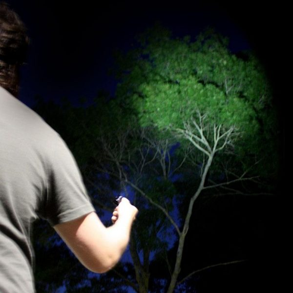 NightSearcher KeyStar 300 Lumen, Rechargeable, Key-Chain LED Torch