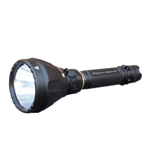 NightSearcher Magnum 1100 Ultra-Bright, Rechargeable LED Torch