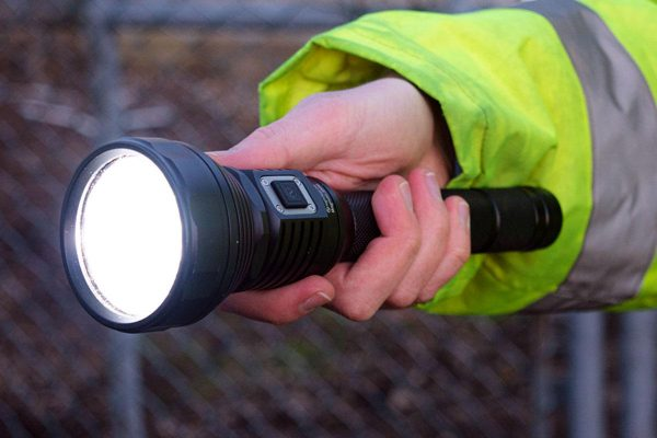 Nightsearcher Magnum 3500 Ultra-Bright, Rechargeable, LED Torch
