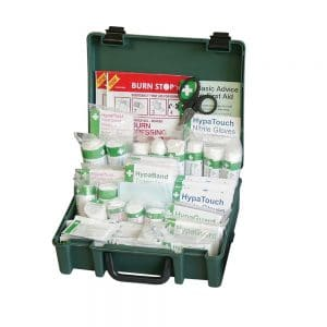 British Standards Compliant Economy Workplace First Aid Kit (Medium)