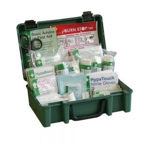 British Standards Compliant Economy Workplace First Aid Kit (Small)