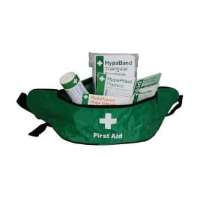 HSE Lone Worker First Aid Kit in Bum Bag