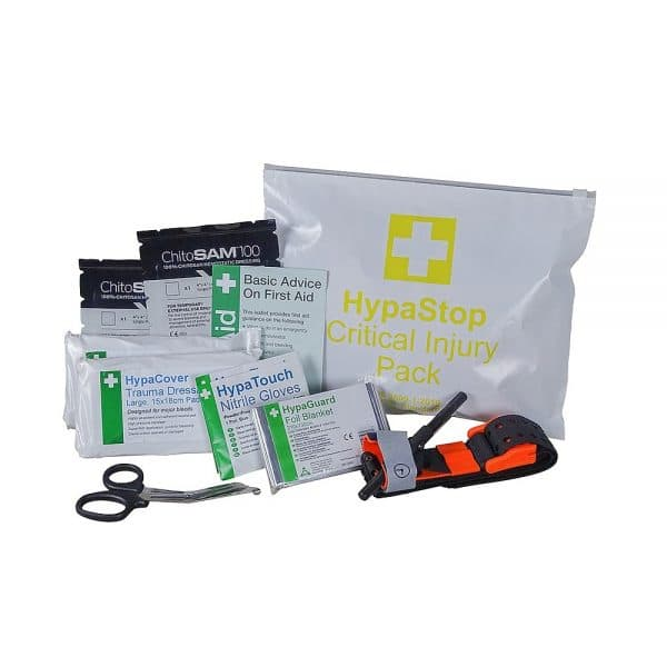 British Standard Compliant Mass Casualty Kit – 5 x Critical Injury Packs