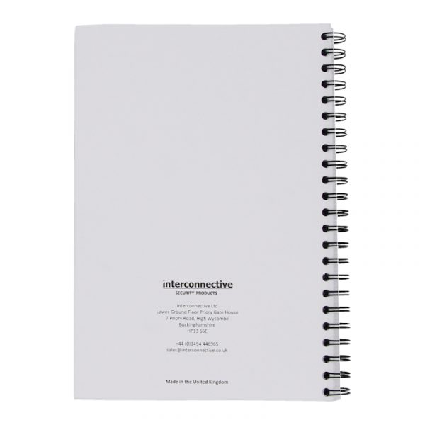 Security Daily Occurrence Book (200 Sheet A4 Log Book)
