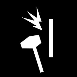Blunt Force Trauma Icon