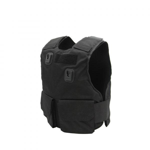 PPSS Black Overt Stab Vest (KR1 SP1)