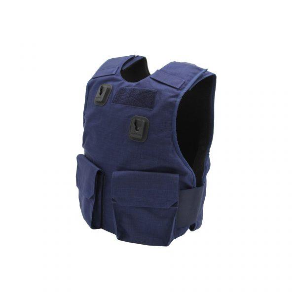PPSS Navy Blue Overt Stab Vest (KR1 SP1)